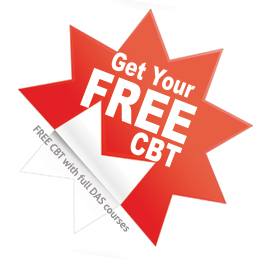 Free CBT with full DAS courses